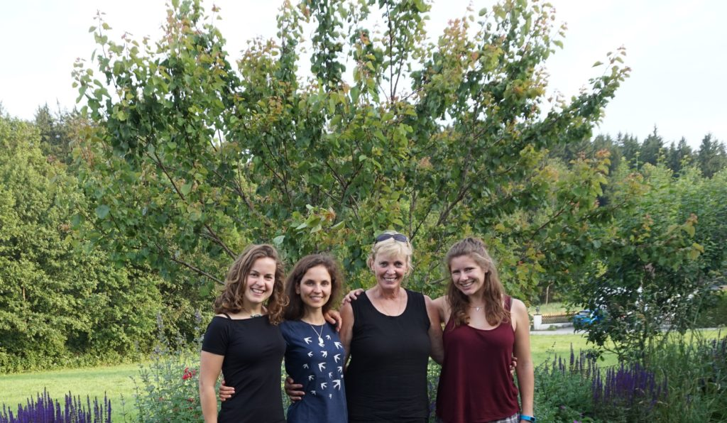 ChildVision Team: Claudia Lausegger, Valentina Kaiser, Brigitte Söllinger, Kristina Begusch